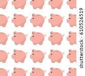 piggy savings money icon | Shutterstock .eps vector #610526519