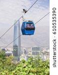 santiago  chile   february 9 ... | Shutterstock . vector #610535390