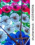 background of thai native...   Shutterstock . vector #610540046