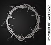 Crown Of Thorns 3d Rendering...