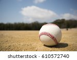 baseball | Shutterstock . vector #610572740