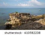 beautiful view of a corner of... | Shutterstock . vector #610582238