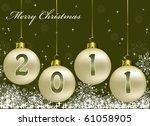 new year background. vector....   Shutterstock .eps vector #61058905