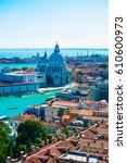 view of san gregorio maggiore  | Shutterstock . vector #610600973
