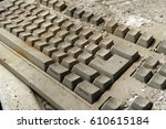 Old Dusty Computer Keyboard....