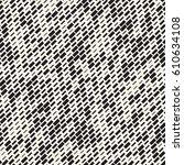 vector seamless black and white ... | Shutterstock .eps vector #610634108