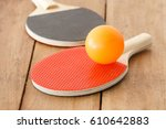 table tennis or ping pong | Shutterstock . vector #610642883