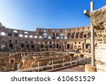 Rome  Italy. The Ruins Of The...