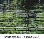 modern glitched background... | Shutterstock .eps vector #610659614