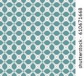 vector seamless pattern. modern ... | Shutterstock .eps vector #610671668