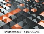 Pattern Of Black And Orange...