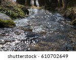 Water Stream In Spring Nature....