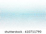 light blue vector banners set... | Shutterstock .eps vector #610711790