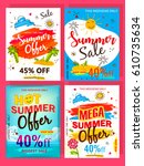 "a set of ""summer offer"" flyer... 