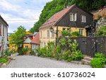 Village Street Scene Landscape