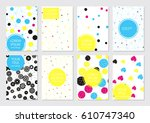 collection of creative...   Shutterstock .eps vector #610747340