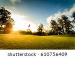 golf course   Shutterstock . vector #610756409