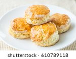 close up view of homemade... | Shutterstock . vector #610789118
