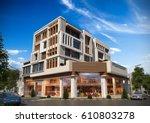 3d rendering and design   multi ... | Shutterstock . vector #610803278