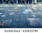 internet social media concept | Shutterstock . vector #610813784