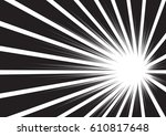 background of radial lines for... | Shutterstock .eps vector #610817648