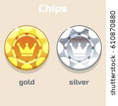 vector poker gold and silver...