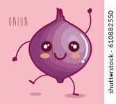 fresh onion vegetable character