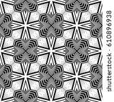 design seamless monochrome... | Shutterstock .eps vector #610896938