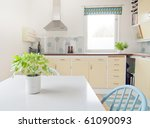 Interior Of Vintage Kitchen An...