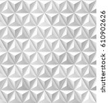 modern triangles and pyramids... | Shutterstock .eps vector #610902626