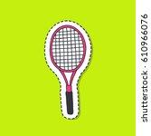 doodle icon  sticker. tennis...   Shutterstock .eps vector #610966076