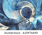 abstract bright painting motion ... | Shutterstock . vector #610976690