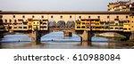 florence  italy  ponte vecchio... | Shutterstock . vector #610988084