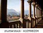 castello del buonconsiglio ... | Shutterstock . vector #610988204