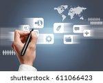 computer language. | Shutterstock . vector #611066423