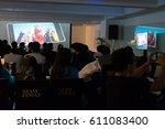 bangkok  thailand   march 29... | Shutterstock . vector #611083400
