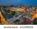 bangkok railway station or hua... | Shutterstock . vector #611098520
