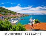 kali   small fishermen town... | Shutterstock . vector #611112449