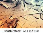 abstract 3d rendering of...   Shutterstock . vector #611115710