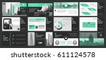 creative set of abstract...   Shutterstock .eps vector #611124578