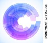 vector abstract background | Shutterstock .eps vector #611152358