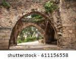 old city jaffa in israel.  | Shutterstock . vector #611156558