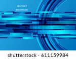 abstract background concept hi... | Shutterstock .eps vector #611159984