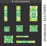 Vector Advertising Web Banners...