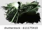 3d futuristic background | Shutterstock . vector #611175410
