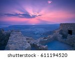 View Of The Judean Desert From...