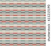 retro colors horizontal lines...   Shutterstock .eps vector #611215190