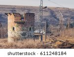 Ruined Round Brick Tower Near...
