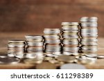 saving money and account... | Shutterstock . vector #611298389