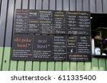 hale'iwa  oahu  hawaii  ... | Shutterstock . vector #611335400